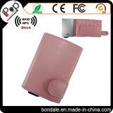 Blocker van de manier RFID de Portefeuille van de Kaart van de Koker van de Houder van de Kaart voor Creditcard