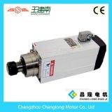 Axe fait chinois 6kw bois à grande vitesse de refroidissement à l'air découpant le moteur d'axe