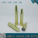Упаковывать бутылки сыворотки золотистого косметического спрейера насоса безвоздушный