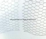 Rede de fio sextavada revestida de Galvanized/PVC pelo aço de baixo carbono