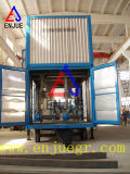 Peso Containerized móvel automático da máquina de embalagem e unidade de ensaque