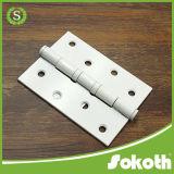 Dobradiça de porta de madeira resistente do rolamento de esferas do aço inoxidável