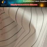 Ткань подкладки втулки костюма людей, ткань пряжи полиэфира покрашенная сплетенная нашивкой (S83.85)