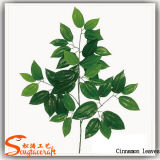 Листья высокого качества вечнозеленые пластичные искусственние для украшения