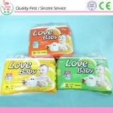 Tecidos descartáveis do bebê no fabricante maioria China