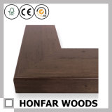 Cadre de tableau en bois classique de Brown moulant pour la décoration