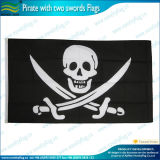 Indicateur gai de Roger fait dans les indicateurs de pirate tournés par 160GSM de polyester (J-NF05F09006)