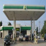 高品質と取除かれる軽い鉄骨フレームの給油所