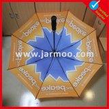 Double parapluie protégeant du vent de golf d'écran