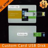USB de destello de la tarjeta de crédito de Pendrive del asunto de encargo (YT-3101)