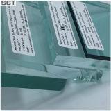 glace inférieure en verre Tempered de fer de 4mm-10mm/Laminateed pour Windows