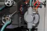 6 Farben-flexographische Drucken-Maschine mit dem Zahnriemen-Steuerselbstausschnitt, der Rolls ändert