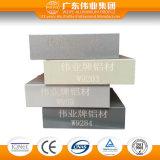 Perfil de alumínio com tratamento de superfície de revestimento do pó