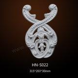 O poliuretano do Onlay do rolo Ornaments os acessórios Hn-S022 do folheado do plutônio