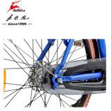 Bici eléctrica azul de la batería de litio de la aleación de aluminio 700C de la ciudad 36V