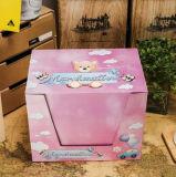 Forma blanca de cartón oso de juguete Lollipop Caramelo
