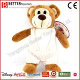Tissu s'usant de mode d'ours mol neuf de jouet