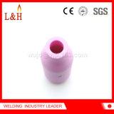10n55 Alúmina Boquilla de cerámica para la soldadura TIG antorcha