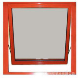 Formato standard della finestra della stanza da bagno di vetro macchiato della finestra di alluminio della tenda