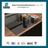 Schwarzes keramisches Glascooktop mit RoHS Bescheinigung
