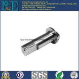 Präzisions-Edelstahl CNC, der kundenspezifischen Drehknopf maschinell bearbeitet