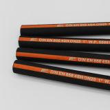 """3/4 """" доказанных Ce шлангов высокого провода 4sh 4 En 856 DIN давления гидровлических резиновый"""
