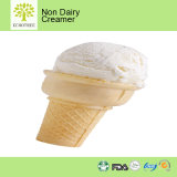 静かに懸命にまたは非機械アイスクリームの粉の組合せ