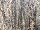 Couro sintético do plutônio da grão de madeira elegante do projeto para sapatas, sacos, decoração (HS-Y60)