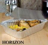 De Container van de Aluminiumfolie van de Rang van het voedsel voor het Roosteren van Kip