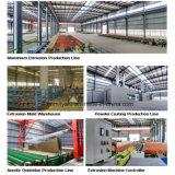 Profils en aluminium industriels d'épaisseur de paroi de fini de moulin grands