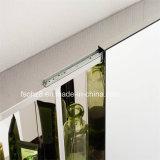 Governo di stanza da bagno di disegno moderno ss con lo scivolamento dello specchio 7094