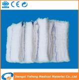 Il cotone 100% ha prelavato la spugna del giro della garza (sterile o non sterile)