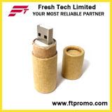 로고 (D833)를 가진 재생된 서류상 USB 섬광 드라이브