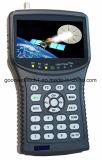 Построено в дюйме MPEG4 HD DVB-S/S2 батареи 4.3