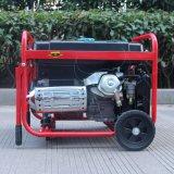 ガソリン発電機のバイソン((h) 6kw 6kVA Electirc中国) BS7500tの開始の銅線のホーム使用の製造業者
