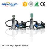 20Wレーザーのマーキング機械のための1064nmレーザースキャナのGalvo Js2205