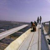 사우디 아라비아를 위한 Prefabricated 가벼운 강철 구조물 보관 창고