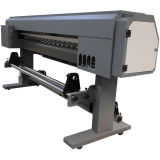 Goedkoopste Prijs 1.8m Één Hoofd Digitale Machine van de Druk van het Geteerde zeildoek Epson