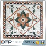 Modelos redondos de mármol del suelo del medallón del suelo de azulejo de mosaico de la alta calidad