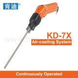 Faca quente continuamente operada do cortador da espuma do punho