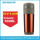 Caneca de café da garrafa de vácuo de Thermos de aço inoxidável quente