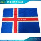 bandeira do corpo de Islândia do poliéster 75D de 3X5FT/bandeira cabo de Islândia (J-NF07F02031)
