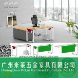 Form-Qualitäts-Direktionsbüro-Schreibtisch-Büro-Möbel mit dem Stahlbein