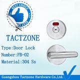 最上質の304の等級のステンレス鋼の洗面所の区分のドアロック