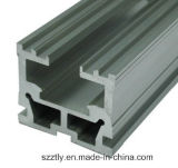 Aluminium 6063 pièces personnalisées d'alliage de rideau en Al/de portes/de profil de finition de Windows