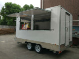 Ice Cream Carrinha De Fibra De Vidro Mobile Kebab Van Mobile Food Trucks