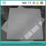 Orientalischer weißer Marmor, statuarische weiße Marmorfliesen, Wand-Umhüllung-Bodenbelag-Fliesen