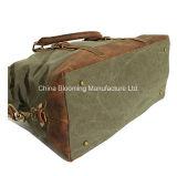 عرضيّ نوع خيش حقيبة يد حمل كبير سفر [دوفّل] نهاية أسبوع حقيبة
