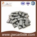 Напаянные режущие части карбида вольфрама изготовления для режущего инструмента K10 K20