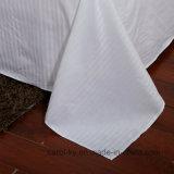 Do algodão 300tc 0.5cm da listra do hotel de matéria têxtil do hotel linho 100% de base